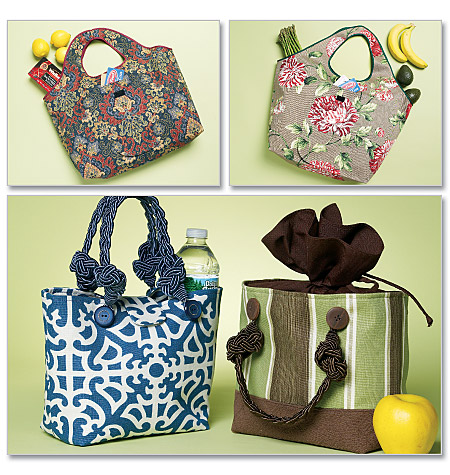 Butterick Shopping and Lunch Bags 5507
