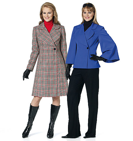 Butterick Misses' Coat 5515