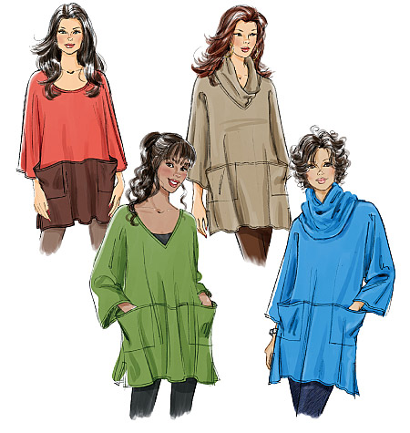 Butterick Misses' Tunic and Neck Ring 5524