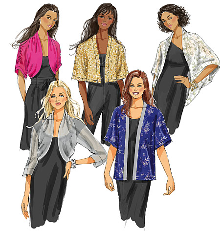 Butterick Misses' Jacket 5529