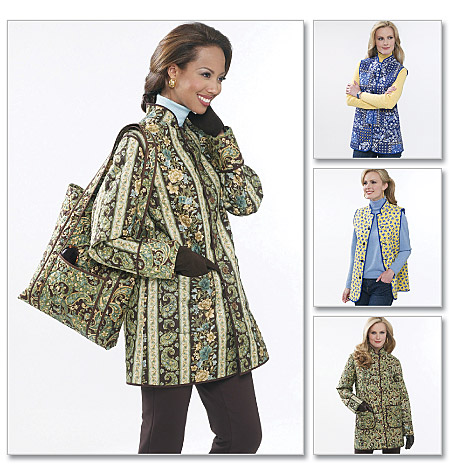 Butterick Misses' Reversible Jacket and Vest; and Tote 5532