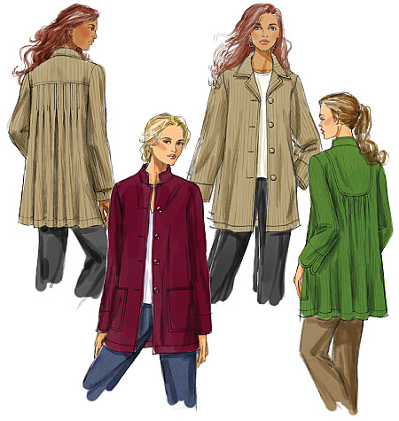 Butterick Misses' Jacket 5533