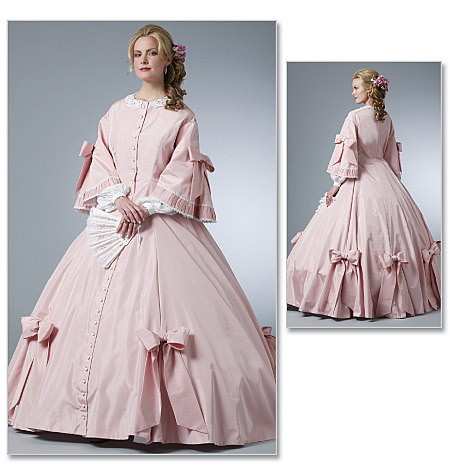 Butterick Misses' Civil War Costume 5543