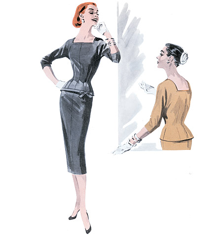 Butterick Misses' Top and Skirt 5557