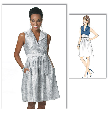 Butterick Misses' Dress and Belt 5558