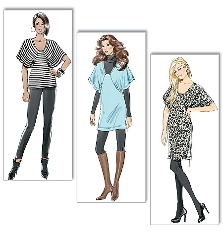 Butterick Misses' Top, Tunic and Dress 5564