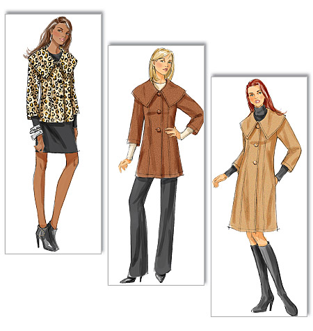 Butterick Misses'/Misses' Petite Jacket and Coat 5569