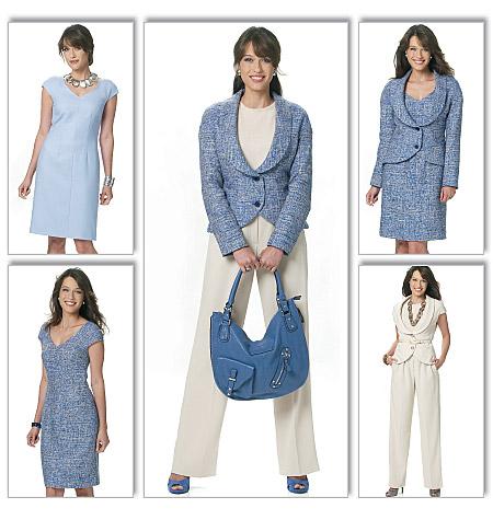 Butterick Misses' Vest, Jacket, Dress and Pants 5570