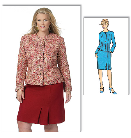 Butterick Misses'/Women's Jacket and Skirt 5574