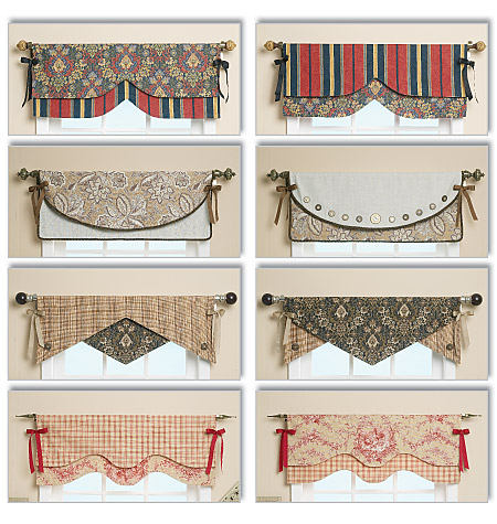 Butterick Reversible Window Valance 5582
