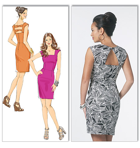 Butterick misses and petite dress 5601