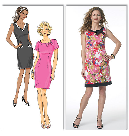 Butterick misses and petite dress 5602
