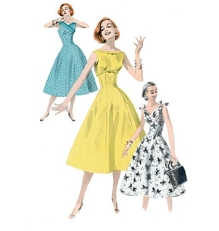 Butterick misses dress