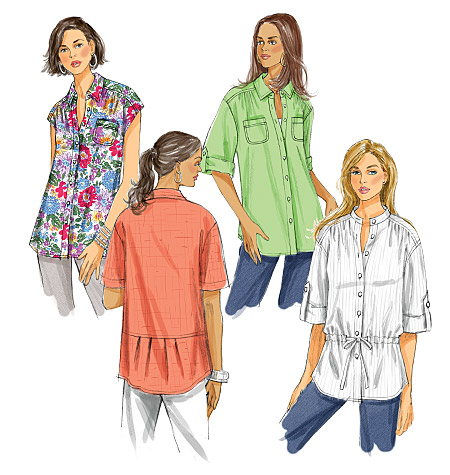 Butterick Misses's Shirt 5611