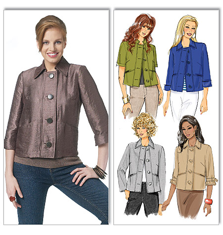 Butterick misses jacket 5617