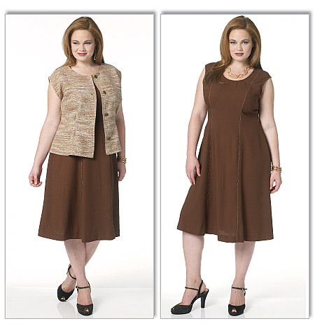 Butterick misses and women's jacket and dress 5620