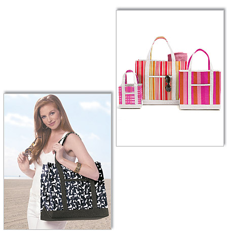 Butterick totes in three sizes 5622