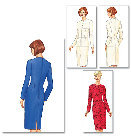 Butterick misses fitting shell and dress 5627