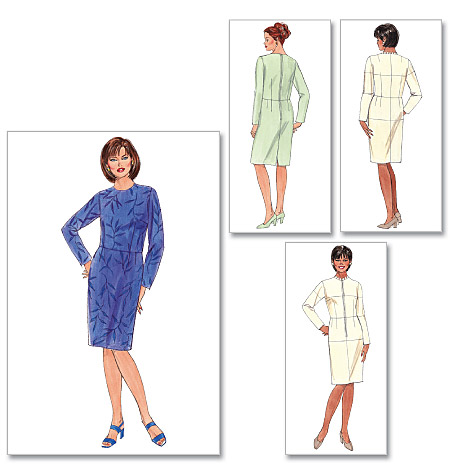 Butterick womens fitting shell and dress 5628
