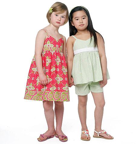 Butterick Children's top,dress, and shorts 5630
