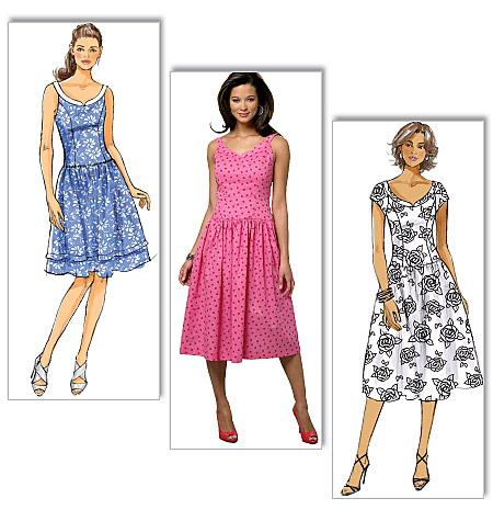 Butterick Misses dress 5641