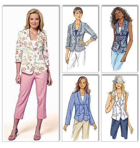Butterick Misses Jacket 5647