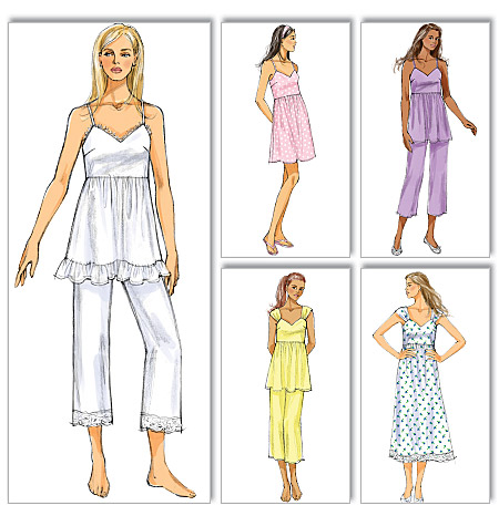 Butterick Misses top, dress and pants 5653