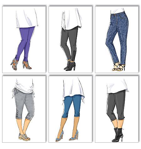 Butterick Women's Leggings 5657