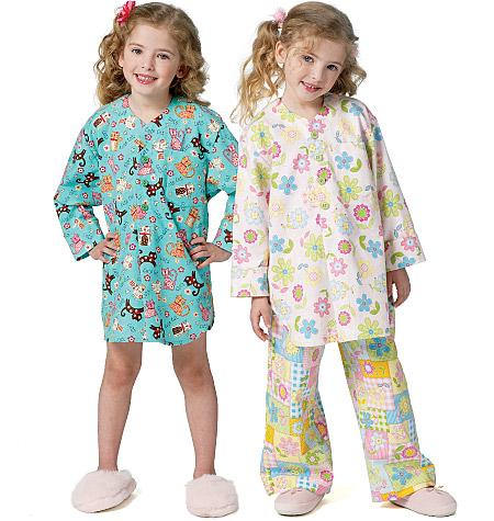 Butterick Children's/Girls' Nightshirt and Pants 5668
