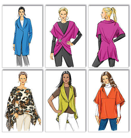 Butterick Misses' Wrap and Jacket 5680
