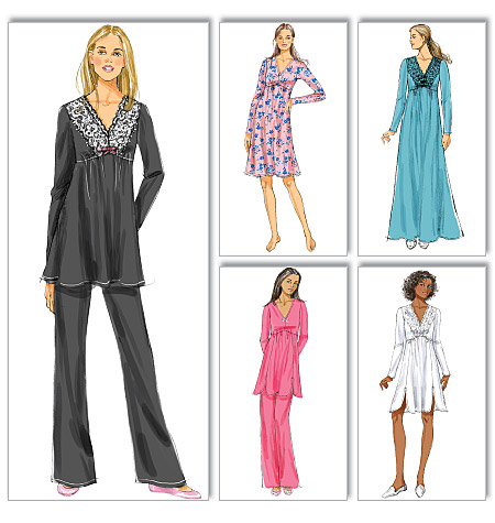 Butterick Misses' Top, Gown and Pants 5688