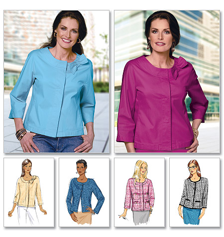 Butterick Misses' Jacket 5712