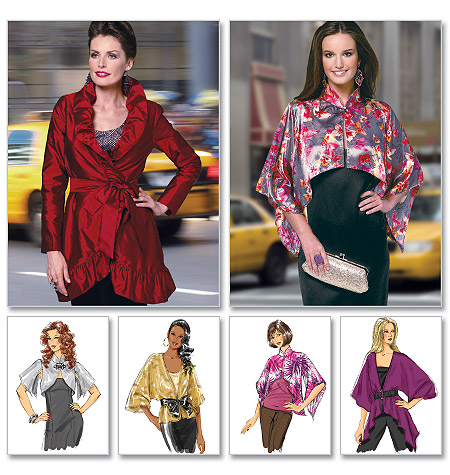 Butterick Misses' Jacket and Belt 5714