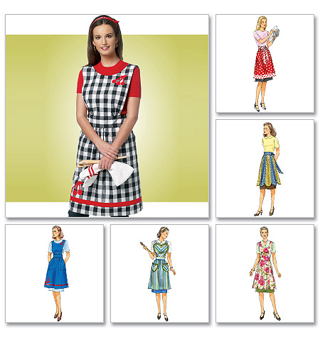 Butterick Aprons 5726