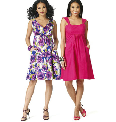 Butterick Misses Dress 5734