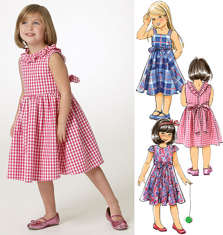 Butterick Girls Dress 5743