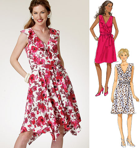 Butterick Misses' Dress and Belt 5744