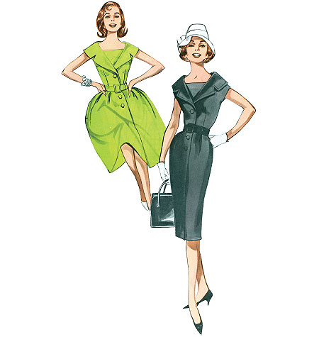 Butterick Misses'/Misses' Petite Dress and Belt 5747