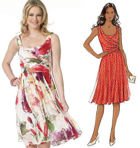 Butterick Misses Dress 5750