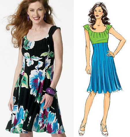 Butterick Misses Dress 5751