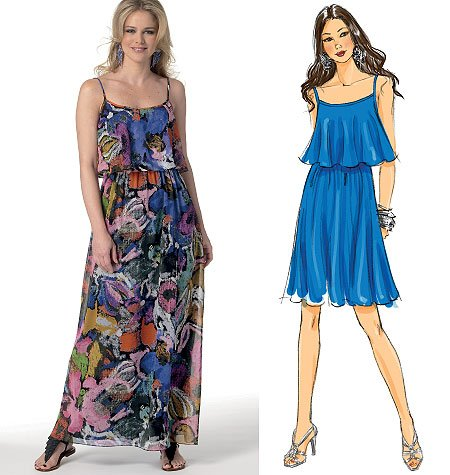 Butterick Misses Dress 5755