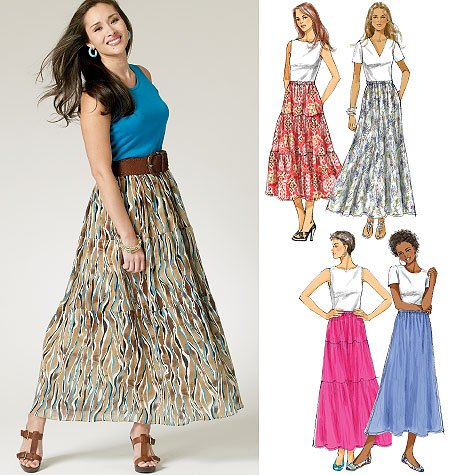 Butterick Misses Skirt 5757
