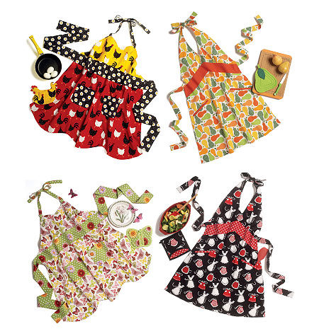 Butterick Apron and Potholders 5765
