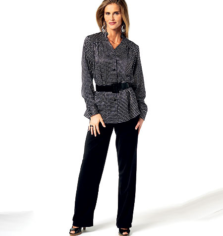 Butterick Misses' Shirt and Pants 5773