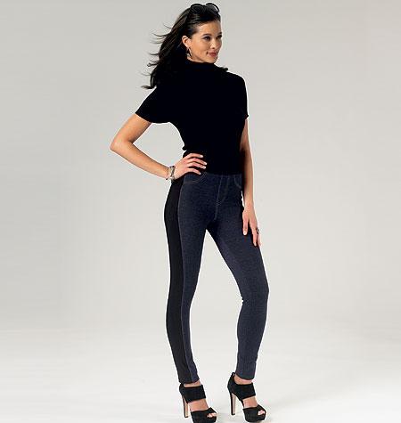 Butterick Misses'/Women's Leggings 5788