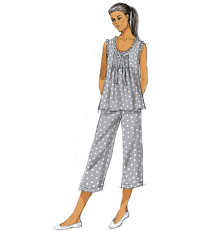Butterick Misses' Top, Gown and Pants 5792
