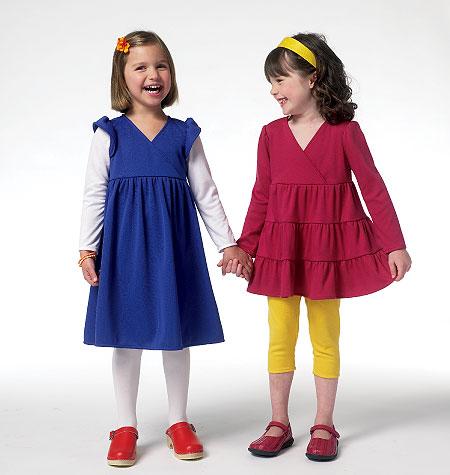Butterick Children's Top and Dress 5801