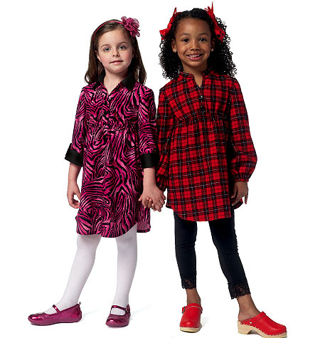 Butterick Children's Top, Dress and Leggings 5802