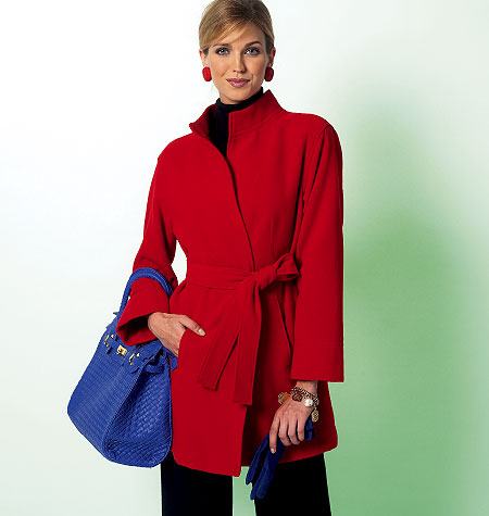 Butterick Misses' Jacket, Coat and Belt 5822