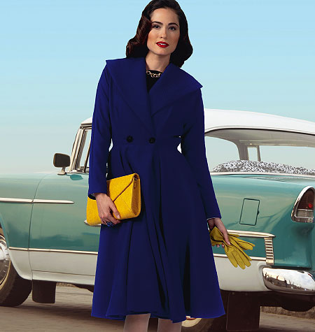 Butterick 5824 Misses' Coat